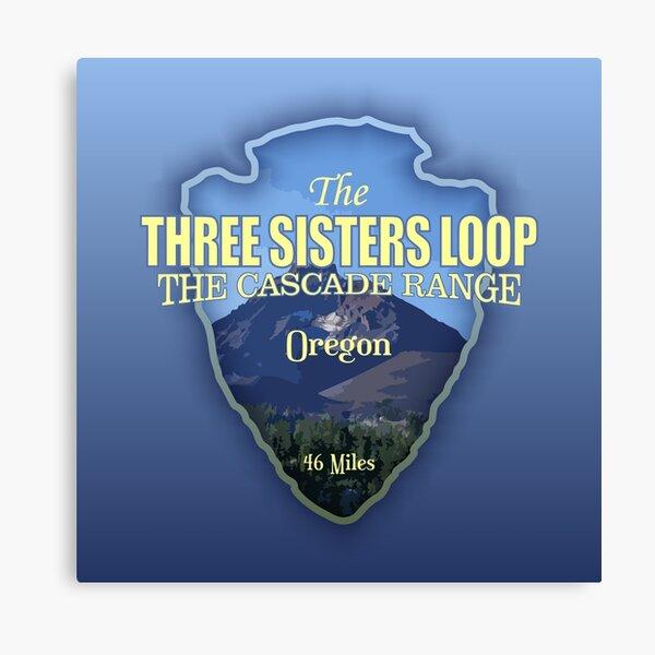 Three Sisters Loop Trail (arrowhead) Canvas Print