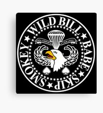 Band of Brothers Crest Canvas Print