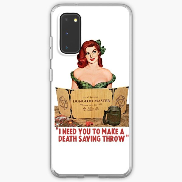 I Need You To Make a Death Saving Throw Samsung Galaxy Soft Case