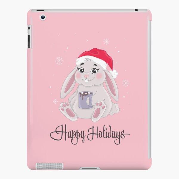 HOLIDAY BUNNY iPad Snap Case
