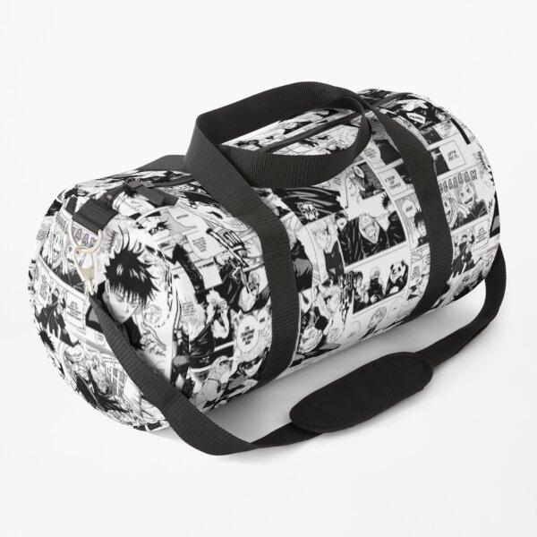 Jujutsu Kaisen manga collage Duffle Bag