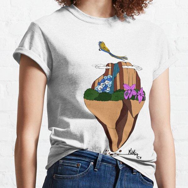 Salto Angel Flotante Camiseta clásica