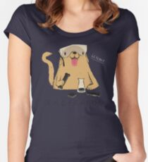lab-rador Women's Fitted Scoop T-Shirt