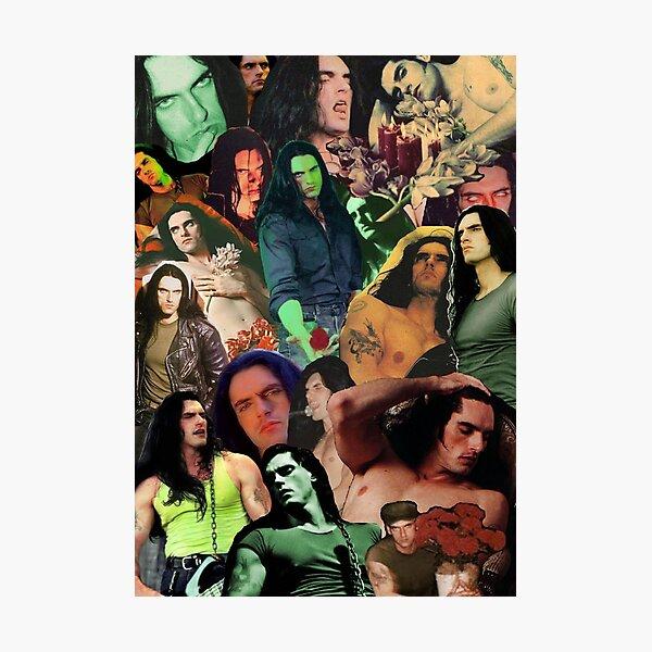 Type O Negative: Peter Steele Dark Goth Collage Edit II Photographic Print