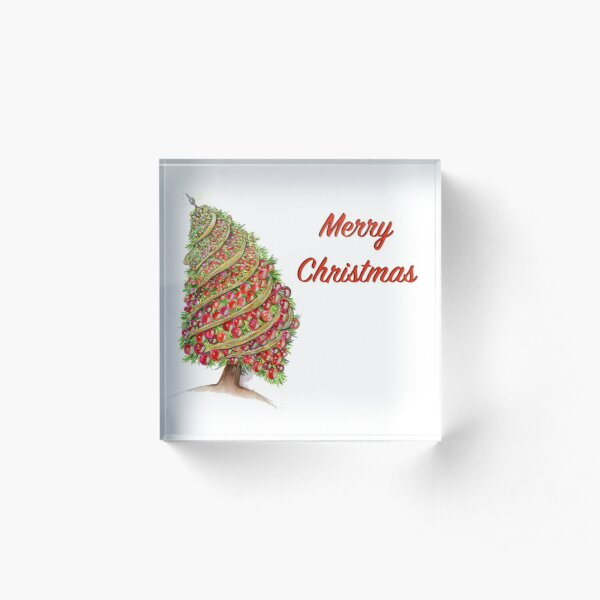 Oh Christmas Tree! Acrylic Block