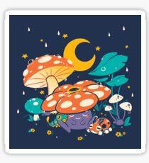 Goodnight Plume Sticker
