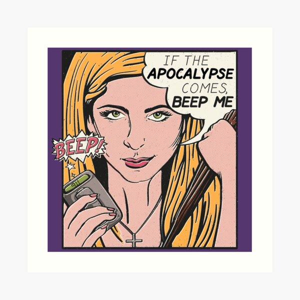 Pop Art Slayer Art Print