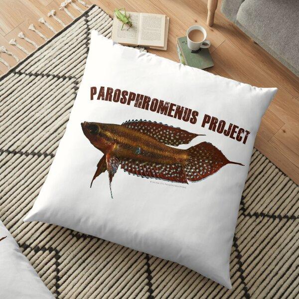 Parosphromenus linkei Floor Pillow