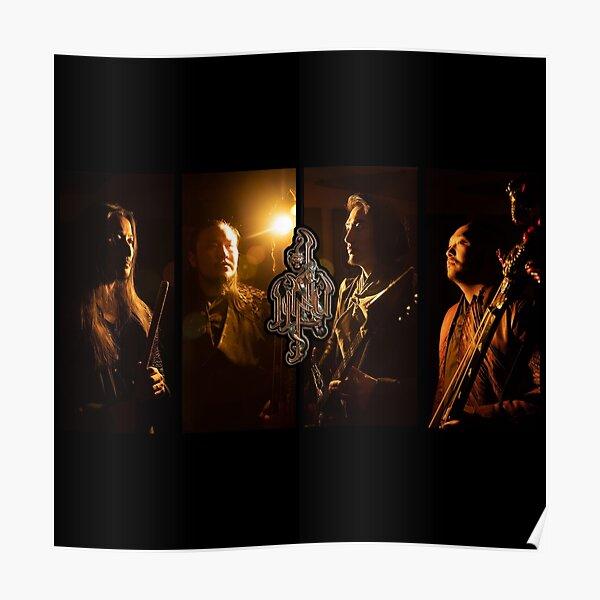 The HU Mongolian Rock Music Band Poster