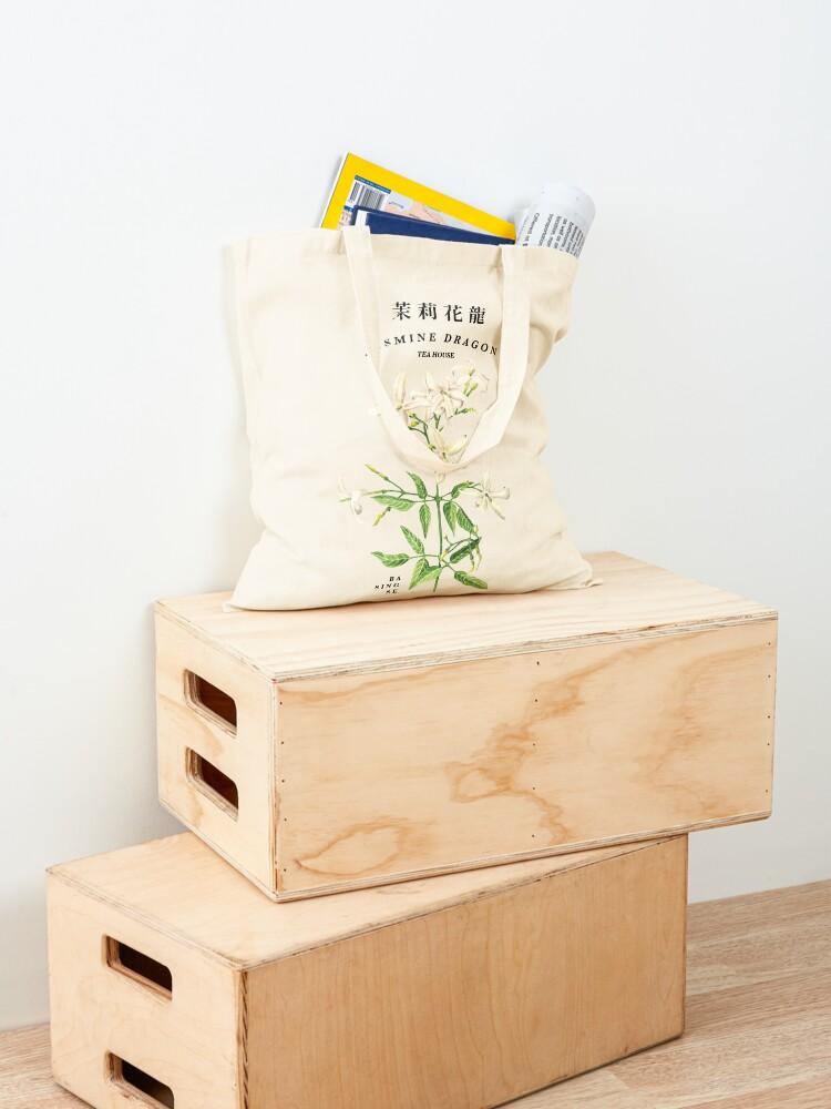 Alternate view of Jasmine Dragon Tea House Tote Bag