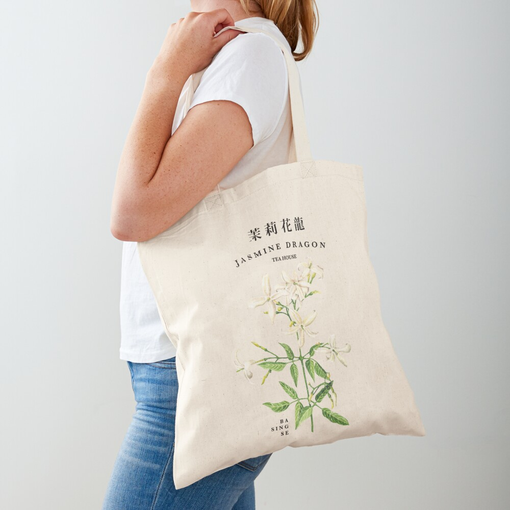 Jasmine Dragon Tea House Tote Bag