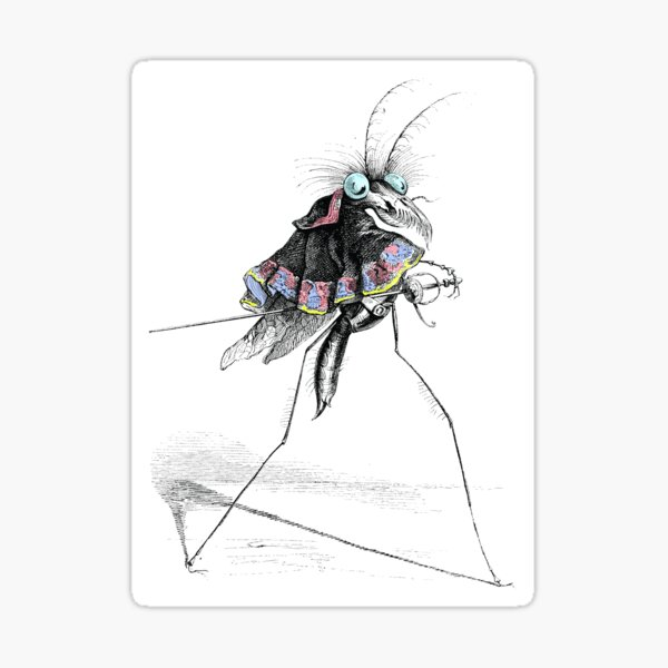 Bug Walk Sticker