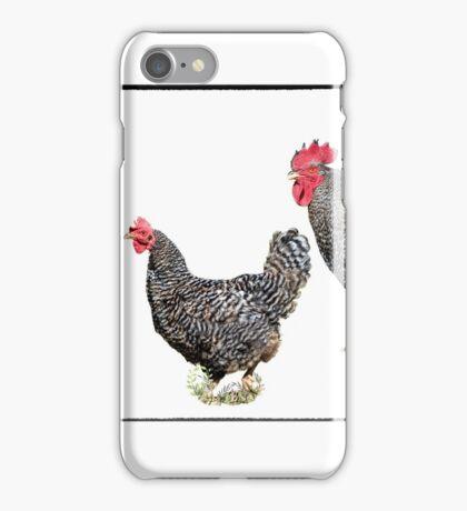 Barnyard Chickens iPhone Case/Skin