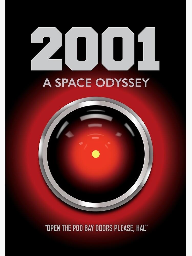 2001 A Space Odyssey - Alternative Movie Poster by MoviePosterBoy