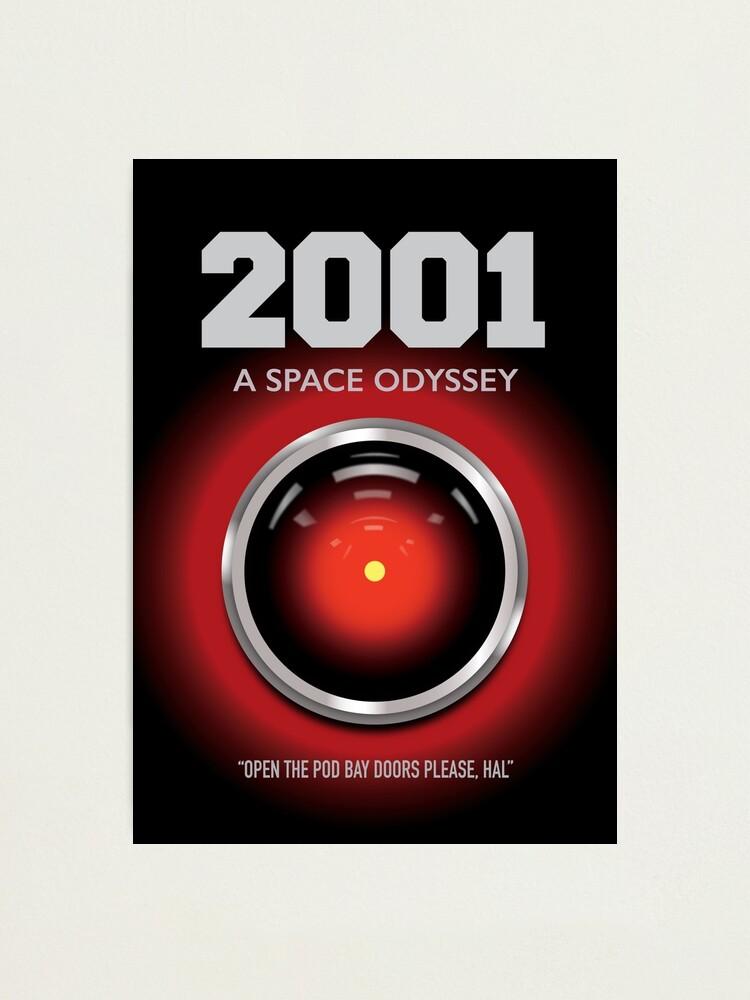 Alternate view of 2001 A Space Odyssey - Alternative Movie Poster Photographic Print
