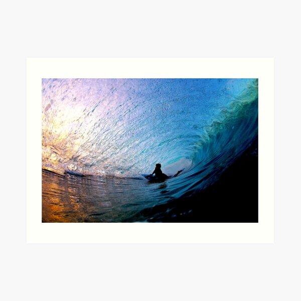 Last Light - Northern Beaches Art Print