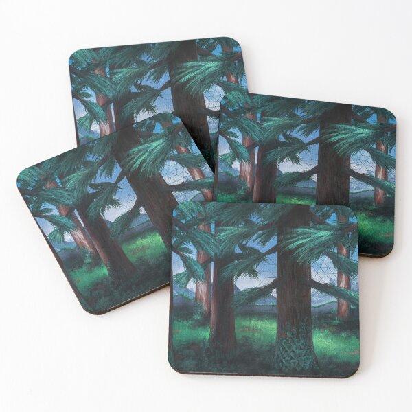 Steam Gardens Coasters (Set of 4)