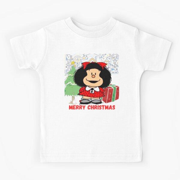 Copy of Mafalda and flowers Camiseta para niños