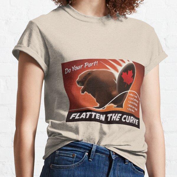Flache die Kurve! Classic T-Shirt