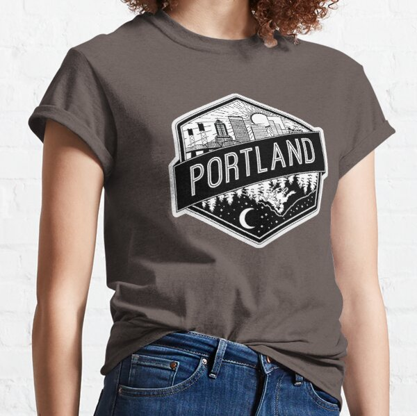 Portland Flipped Classic T-Shirt