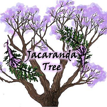 Jacaranda Tree by Brydenophyte