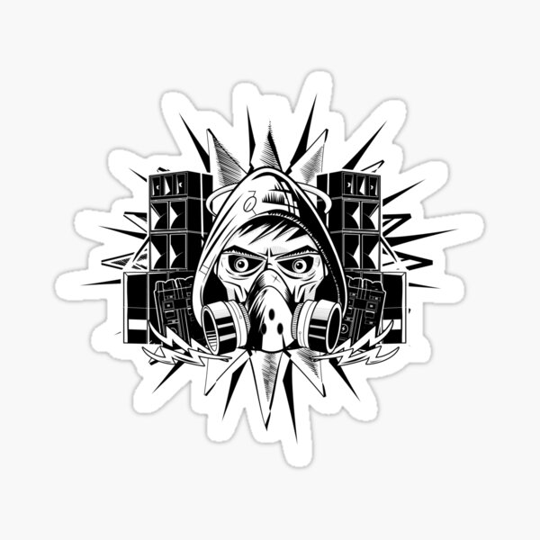 Pirate de la Teuf Sticker
