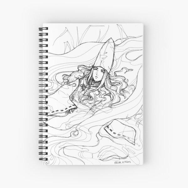 Inktober 13, 2015 - Fujiwara no Sai Spiral Notebook