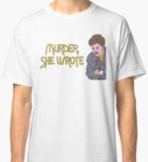 Murder She Drew Classic T-Shirt