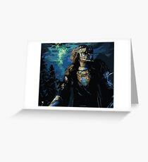 Commander Cullen Rutherford Digital Painting  Greeting Card