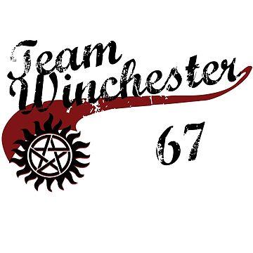 Team Winchester by PrincessSchez