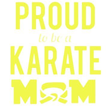 Proud Karate Mom by newawesometee