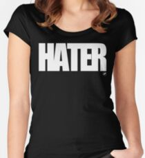 HATER Women's Fitted Scoop T-Shirt
