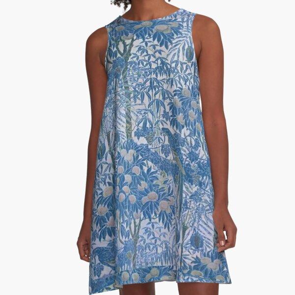 Floral Haze A-Line Dress
