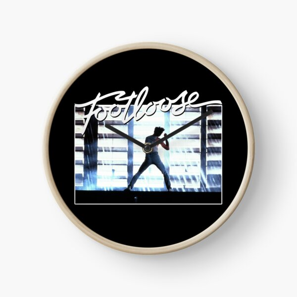 Footloose 80s movie Clock