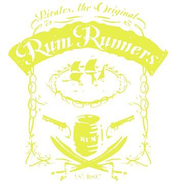 RUM RUNNER by newawesometee