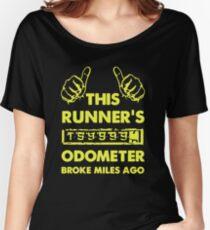 Runner's Odometer Broke Miles Ago Women's Relaxed Fit T-Shirt