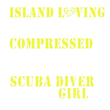 Scuba Diver Girl by newawesometee