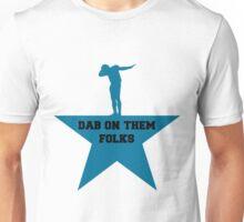 Cam newton Dab blue star Unisex T-Shirt