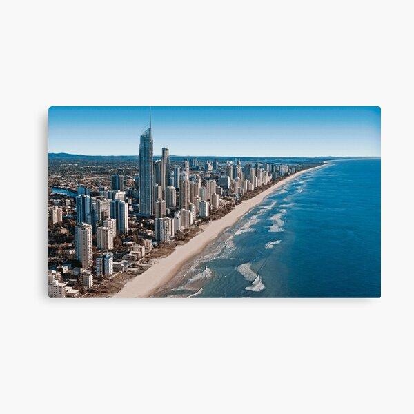 Gold Coast Australia Aerial View Canvas Print