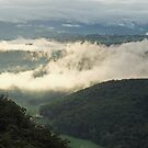 Megalong Valley in Mist by Geoff Smith