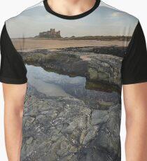 Bamburgh Castle Graphic T-Shirt