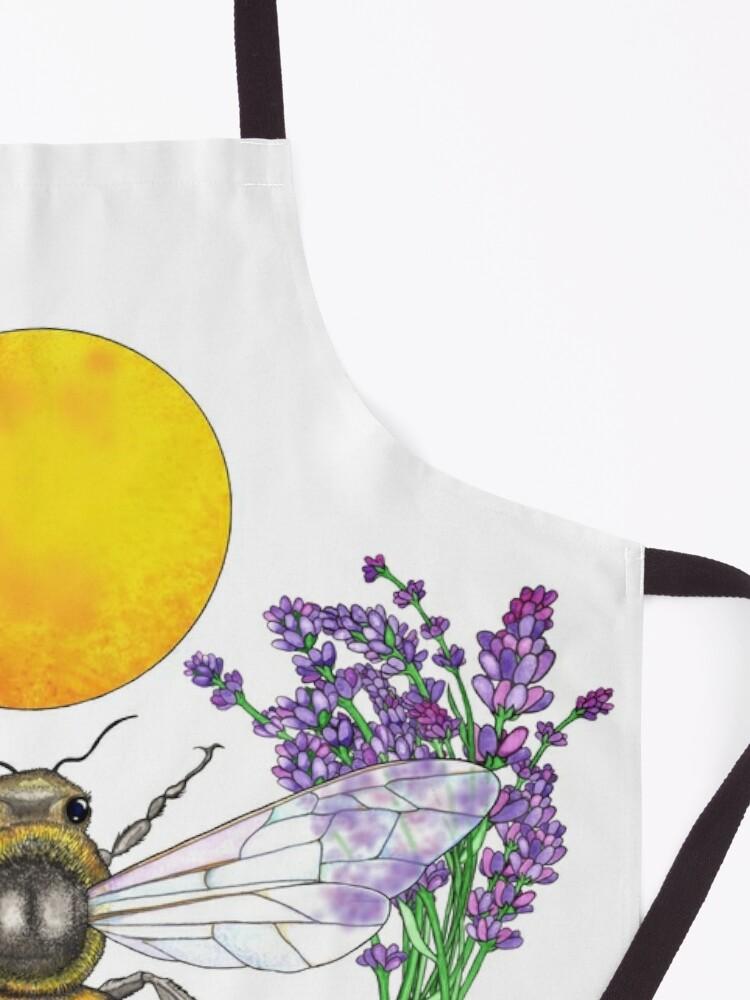 Alternate view of Full Moon Honey Bee Apron