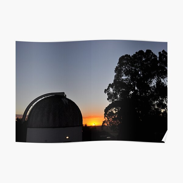 MBO Dome at Sunset Poster