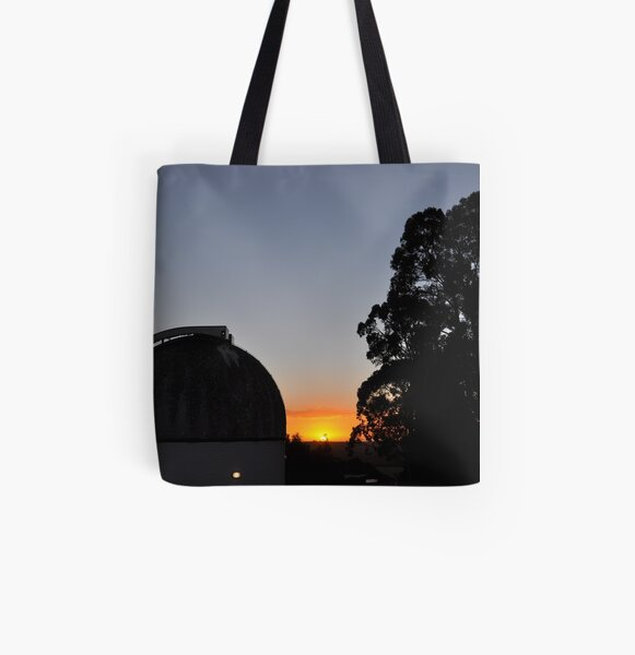 MBO Dome at Sunset All Over Print Tote Bag