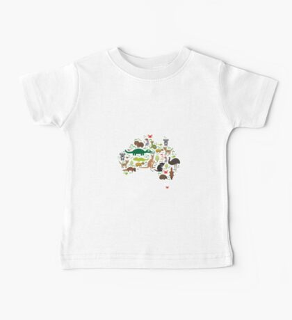 Funny australian animals Kids Clothes
