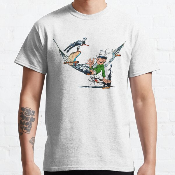 Gaston Lagaffe in Hammock 2 Classic T-Shirt