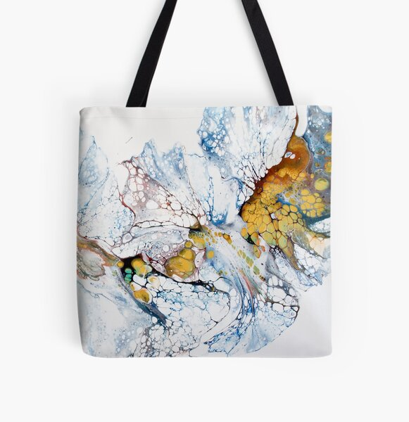 Feathering All Over Print Tote Bag