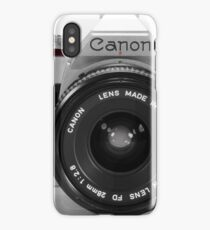 Canon AE-1 iPhone Case/Skin