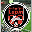 Racing Club Lapin - Red & Black Circle Logo (Stadium) by JoelCortez