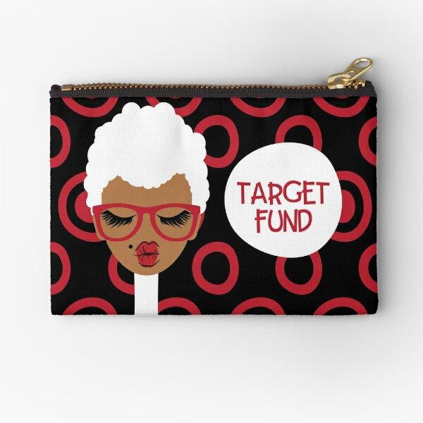 Target Fund Zipper Pouch